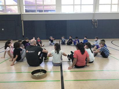 !Respect-Training in der GS Kattenstroth in 2018