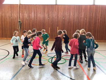Kinder der Grundschule Schmedenstedt/Woltorf beim !Respect-Training im Herbst 2018 (Foto: Vera Petersen)