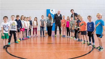 !Respect-Training in der Grundschule Lamme in 2017