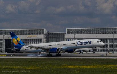 Condor D-ABOB Boeing 757-300