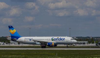 Condor/Thomas Cook D-AICH Airbus A320