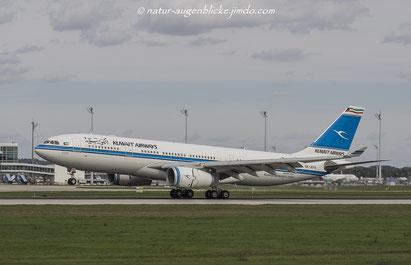 Kuwait Airways  9K-APA  A330-200, Airbus, Münchner Flughafen