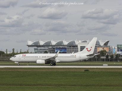 TUIfly  D-AHFT  B737-800, Boeing, Flughafen München