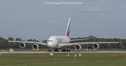 Emirates  A6-EDQ  A380-800, (Expo 2020), Airbus A380, MUC