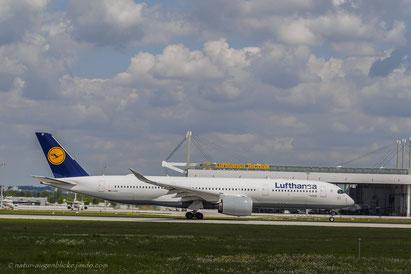 Lufthansa D-AIXC Airbus A350-900 Saarbrücken