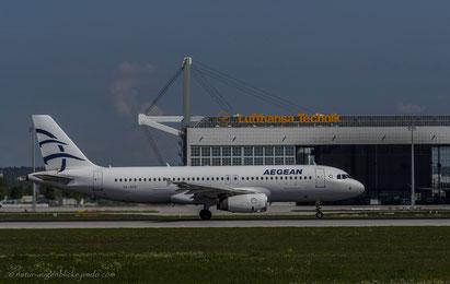 Aegean SX-DGV Airbus A320-232
