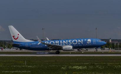 TUI-Robinson D-ATUI Boeing 737-800