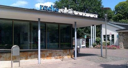 Das radio aktiv-Funkhaus am Bürgergarten in Hameln