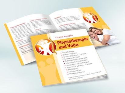 broschuere-klammerheftung-physiotherapie-logo-grafikwerkstatt-thielen