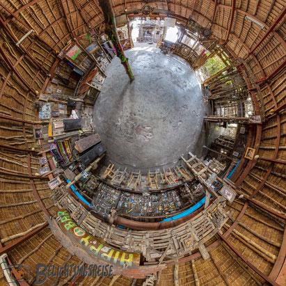Kugelpanorama,  Thailand, Koh Phayam, Hippy Bar 180x360 Panorama, 360 Grad, 360 Grad Panorama, Belichtungsreise