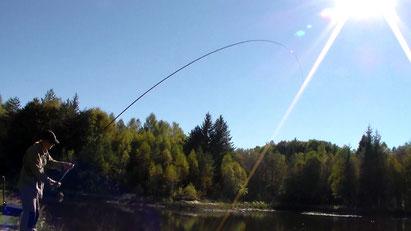 Pêche à la mouche - Diège - Corrèze - Plateau de Millevaches