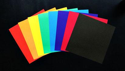 Origami Papier Set 2-Farben