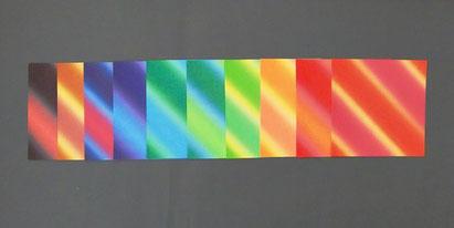 Origami Papier Set Bokashi - Japanische Motive 15x15 cm