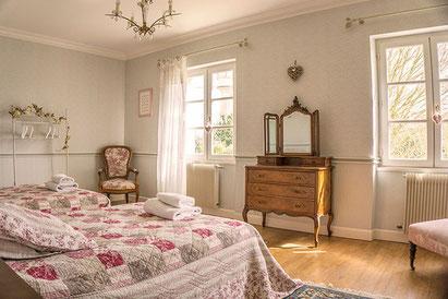 Chambre d'hôte suite familiale chambre Semillon