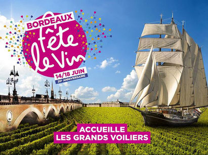 Bordeaux fête le vin 20éme anniversaire