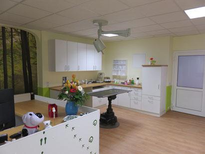 Behandlungsraum Tierarztpraxis Thierfelder, Lößnitz