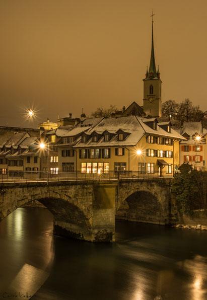 Untertorbrücke und Nydeggkirche im Hintergrund