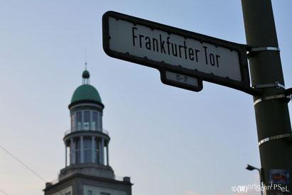 von den Türmen vom Frankfurter Tor aus hat man einen herrlichen Blick über die Stadt