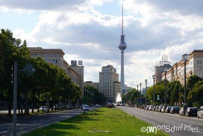 der Fernsehturm passt immer auf ein Foto, egal wo man steht!