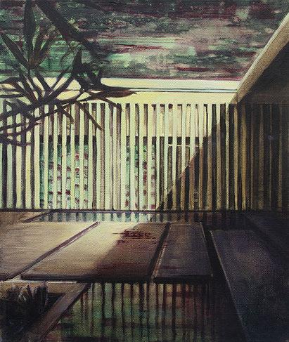 Golden Age, 2017, Öl auf Leinwand, 55x45 cm