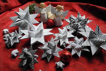 Sterne aus Papier