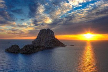 Sunset Es Vedra