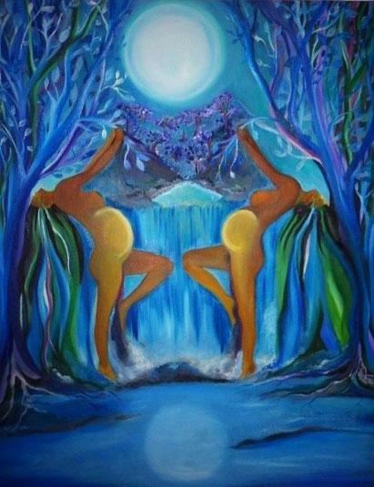 luna, sagrado femenino, killen,