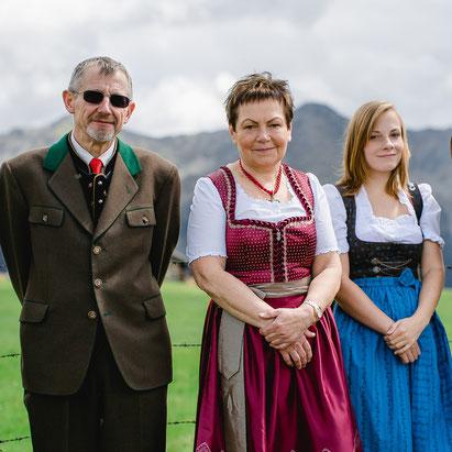 Familie Riesslegger in Lassach