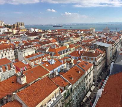 Elevador de Santa Justa - Lissabon