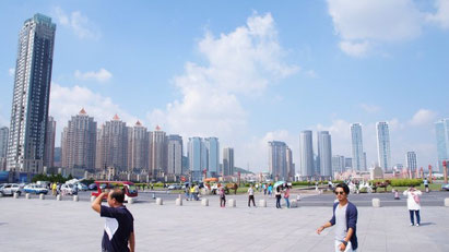 中国大連 星海広場