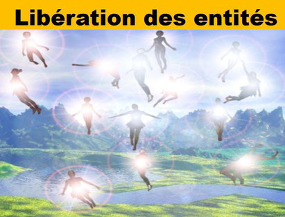 Libération des entités - Le pèlerin bien-être.fr