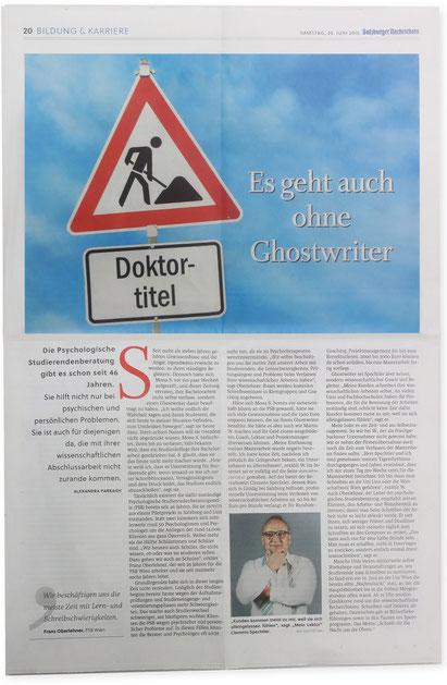 SALZBURGER NACHRICHTEN Presse Mein Lektor