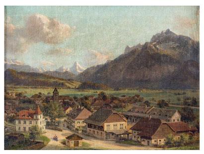 Das Bild wurde für die Familie Friesacher vom Maler Franz Kulstrunk angefertigt – ca. 1925