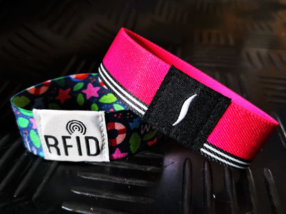 printed sublimation flexi wristband with patch
