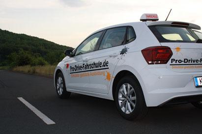Auto der Pro Drive Fahrschule Köln