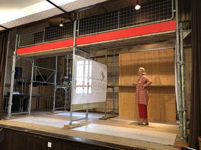 Gewerbeausstellung Fraubrunnen 2021 - Musterstand 2 Boxen