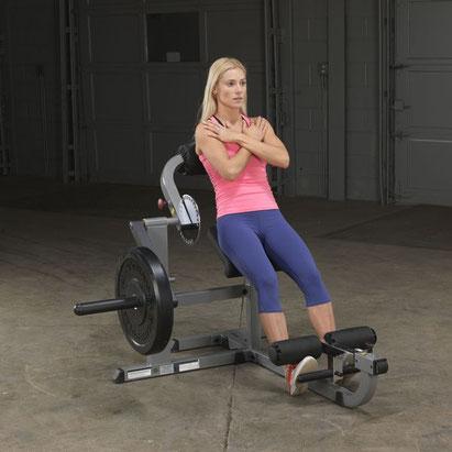 Body Solid Bauchtrainer und Rückentrainer GCAB-360-BS