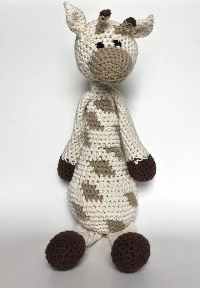 Peluche girafe en crochet (cliquez pour avoir plus d'informations)