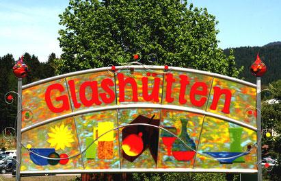 Teaser Glasstraße: Glasmuseen, -galerien, -hütten