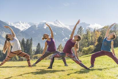 Yogafrühling Gastein, Yogaherbst Gastein mit Verena Lainer