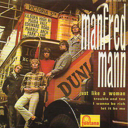 Manfred Mann - Just Like a Woman EP cover