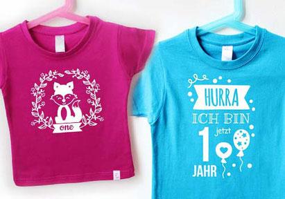 T-Shirts - Geburtstagsshirt - nähfein