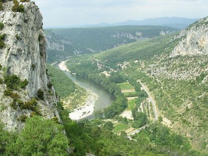 gorge of ardeche