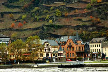 ST.Goar  Bopard Deutschland Germany