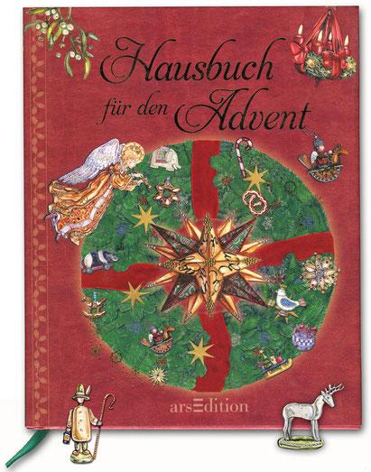 """Buchcover """"Hausbuch für den Advent"""" Caroline Ronnefeldt ars Edition"""