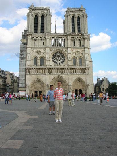 La Cathédrale de la Notre Dame, Paris