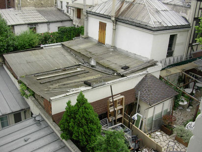 Paris - Ausblick aus dem Hotel de la Jatte