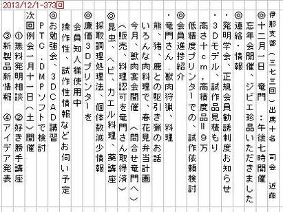2013/12/1-例会内容