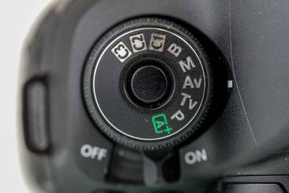 Kameraeinstellungen Aufnahmeprogramme - die Zeitautomatik (AV-Modus)