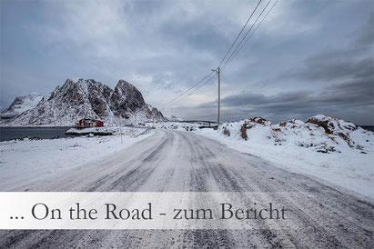 Autofahren auf den Lofoten im Winter: wie sind die Bedingungen, auf was ist zu achten